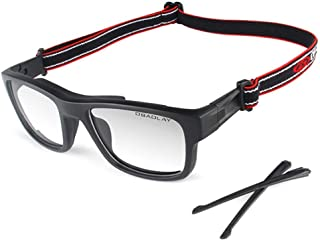 Wonzone Sports Goggles Safety Protective Basketball Glasses with Adjustable Strap for Adults...