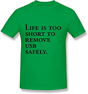 Men's Funny Text T-Shirt