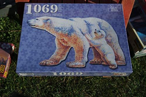 Unbekannt Im Land der Bären - Silhouette Puzzle mit 1069 Teilen