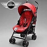 EasyWalker - Silla de Paseo Easy Walker Mini Buggy Union Jack Blazing Red rojo