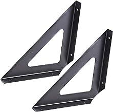 KUWD Paar Plankbeugels, Heavy Duty Iron Multifunctionele Drijvende Beugel Ondersteuning, voor DIY Drijvende Industriële De...