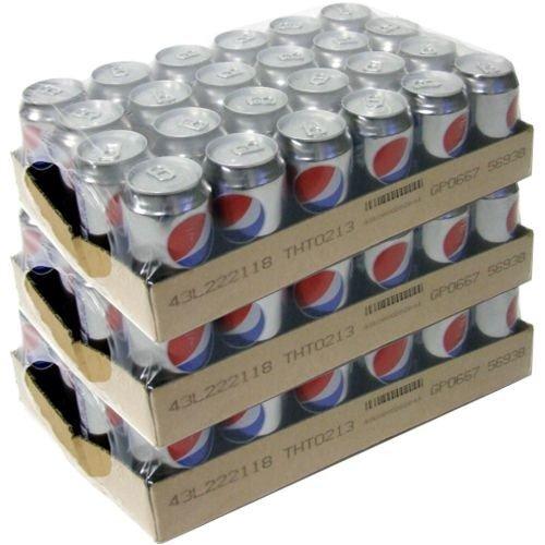Pepsi Cola light Zuckerfrei, 72 x 0,33l Dose