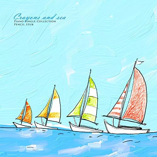 Crayons And Sea
