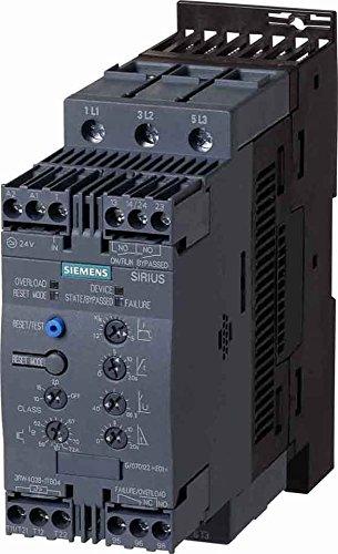 Siemens 3RW4036-1TB04 Sanftstarter SIRIUS S2 45A, 22kW/400V, 40°C AC 200-480V, Schraubklemmen