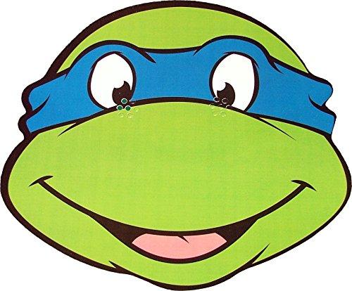 StarCutouts Teenage Mutant Ninja Turtles - Leonardo - Card Face Mask.