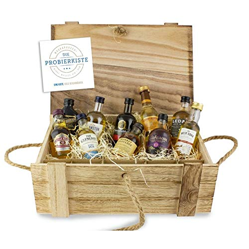 Die Probierkiste - Whisky Klassik 10 | Whisky Probierset