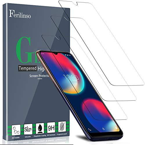 Ferilinso [3 Pack] Compatible con Cristal Templado Wiko View 4/ View 4...