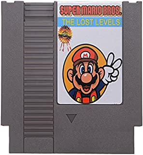 Super Mario Bros. 2 - The Lost Levels 72 Pin 8 Bit Game Card Cartridge for NES Nintendo
