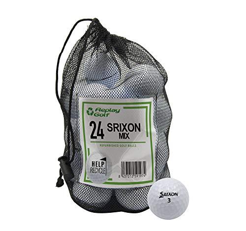 Replay Srixon Models, Refurbished, 24 Ball Mesh Bag