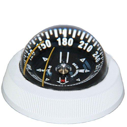 Silva Kompass Mod. 85 schwarz/weiß mit Beleuchtung