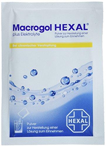 Macrogol HEXAL plus Elektrolyte, 10 St. Beutel