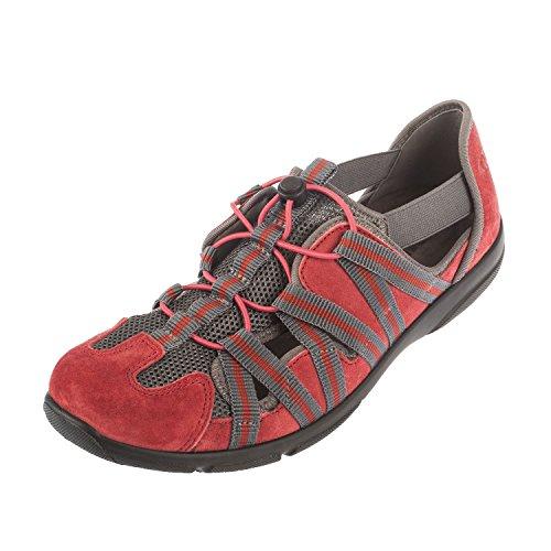 Romika Damen Traveler 01 Sneaker, Rot (rot 400), 40
