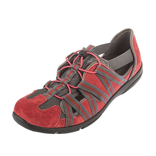 Romika Damen Traveler 01 Sneakers, Rot (rot 400), 42 EU