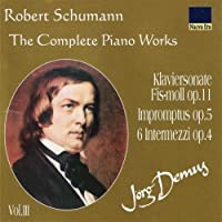 Complete Piano Works Vol.3 by Robert Schumann (1999-04-24)