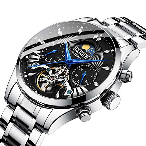 GUOJIAYI Reloj de hombre automático mecánico de lujo reloj de los hombres reloj deportivo hombres