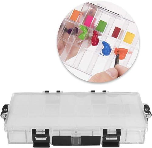 new arrival Larcele Plastic Airtight Gouache outlet sale Palette Watercolour Box wholesale Pigment Storage Paint Case Portable for Oil Painting SFTSH-01 (24 Squares) online sale
