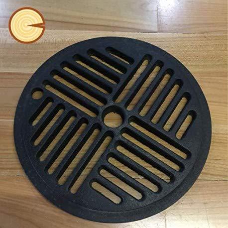 Griglia cenere in ghisa diam. 23 cm con foro 15,5 mm - Edilkamin