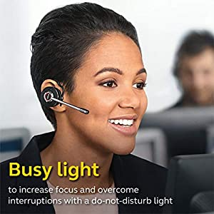 Jabra Engage 65 Wireless Headset, Convertible – Telephone Headset with Industry-Leading Wireless Performance, Advanced Noise-Cancelling Microphone, All Day Battery Life