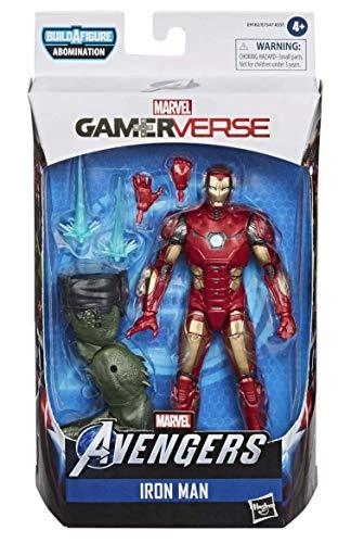 Marvel Legends Gamerverse Avengers Iron Man Figura de acción de 6 pulgadas