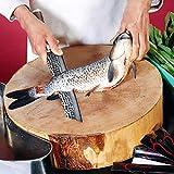 adelmayer® Damastmesser Kiritsukemesser 21,2cm handgeschliffen nach traditioneller Art - Sehr scharfe robuste Klinge aus 67-lagigem japanischem Damaststahl Ergonomischer Walnuss-Griff + Geschenkbox - 4