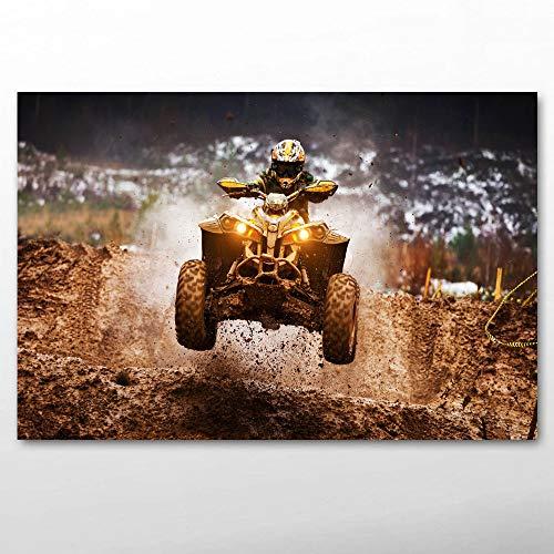 UHvEZ 1000pcs_Adult Puzzle_Motocross_Rompecabezas de Paisaje ensamblado de Madera, Juguetes para Adultos, Juegos para niños, Juguetes educativos_50x75cm