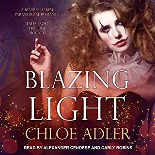 Blazing Light: A Reverse Harem Paranormal Romance audiobook cover art