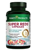 Super Reds Formula (20+ Organic Super Fruits & Berries)   Purity Products   Heart & Brain Health Support*   Supports Healthy Immunity and Energy Levels*   90 Capsules