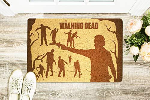 StarlingShop Felpudo Walking Dead Walking Walking Dead para Puerta con diseño de Walking Dead