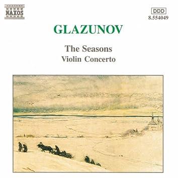 Glazunov: Violin Concerto in A Minor / The Seasons