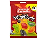 Maynards Bassetts Wine Gums £1 Sweets Bag (165g x 2)
