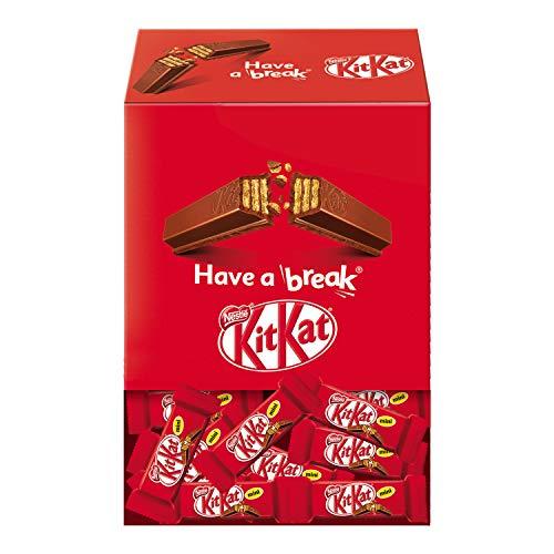 KitKat Mini Snack di Wafer Ricoperto di Cioccolato al Latte Scatola 77 Mini Snack - 1.3 kg