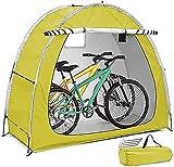 WANYE Carpa para Bicicletas, Cobertizo Portátil para Guardar Bicicletas, Diseño Impermeable Y a Prueba De Polvo con Ventanas, Adecuado para Acampar Al Aire Libre