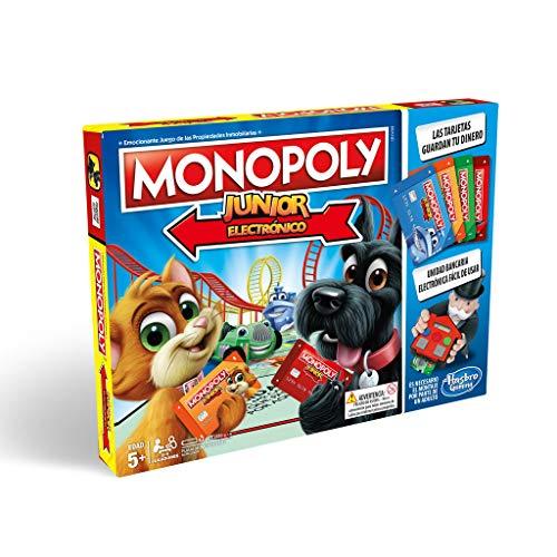 Monopoly – Junior (Versión Española)  (Hasbro A6984793)