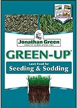 Jonathan Green 11540 Green Up 12-18-8, Seeding & Sodding Lawn Fertilizer, 1,000 sq. ft, Yellow