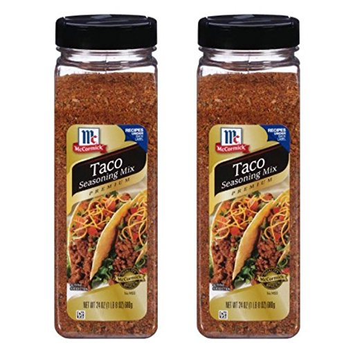 McCormick Premium Taco Seasoning, 24 oz.Pack of 2
