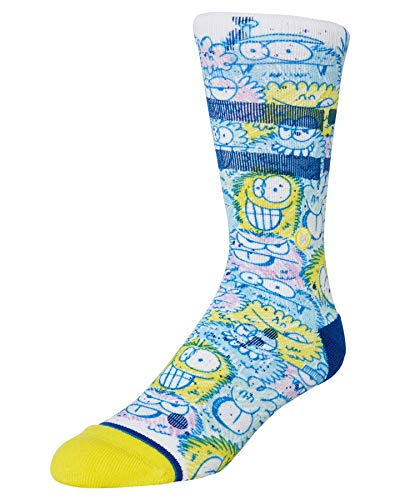 Stance Calcetines Foundation para hombre ~ Kevin Lyons Crunch blue