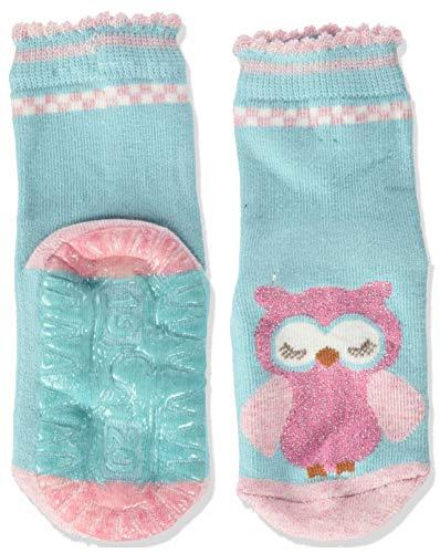 Sterntaler Baby-Mädchen FLI Air Eule Socks, Türkis, 28