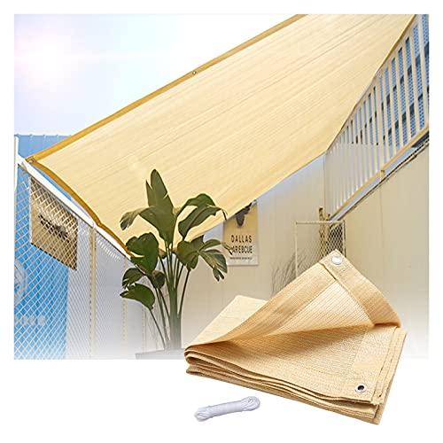 GFSD Patio Shack Toldo Vela de Sombra, Toldos Exterior Terraza Protección Rayos UV Toldo Vela para Exterior, Jardín, Terrazas, Poliéster (Color : Beige, Size : 2x3m)