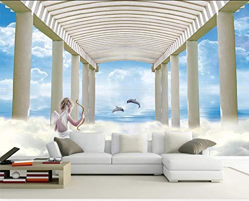 3d wandbild kreative mode griechischen mythologie amor engel tapete wohnzimmer schlafzimmer wand behandlungen dekoration sofa tv foto wand papier 200x140 cm
