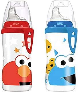 Sesame Street Active Cups 10oz NUK Bundle of 2