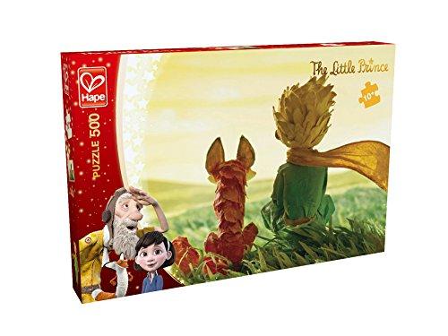 Hape E824784 The Little Prince Puzzle Freundschaft 500 teilig, bunt