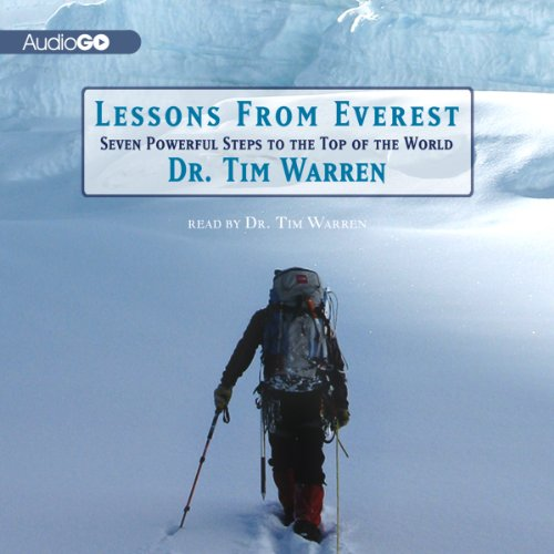 Lessons from Everest audiobook cover art