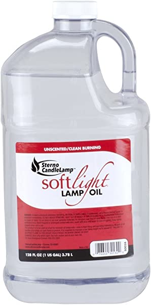Sterno 1 Gallon Smokeless Liquid Paraffin Lamp Oil