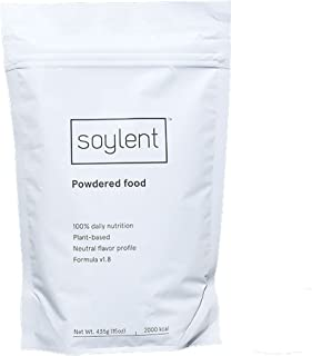 Soylent Complete Nutrition Meal Replacement Powder, 1 Day (5 meals), 435g