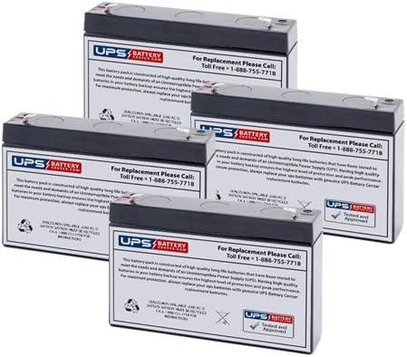 4 6V 7Ah F2 - cheap Replacement Battery for Set Regular dealer Tripp SMART750R Lite