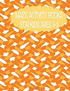 maze activity books for kids ages 3-5: 161 maze,Activity Book for Kids