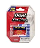 Orajel Touch-Free Applicator for Cold Sores, 4 count (Bundle of 2)