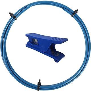 Creality Capricorn Bowden PTFE Tubing Tube XS Series 2 Meters 1.75MM Filament with PTFE Teflon Tube Cutter for Ender 3 Ender 3 Pro, Ender 5, Ender 5 Plus, CR-10,CR-10V2 3D Printer