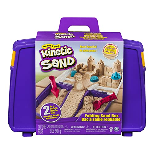 Kinetic Sand, Folding Sand Box with 2...