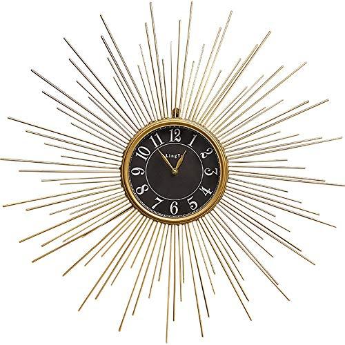 Nordic Eenvoud Wall Clock, Metal Modern Unique wandklokken Grote Silent decoratieve Hangende Klokken for Slaapkamer Woonkamer Office